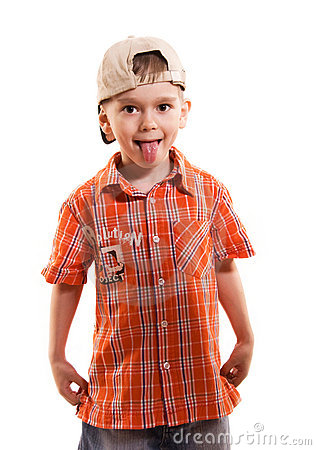 Free Little Boy Making Faces Royalty Free Stock Image - 5974826