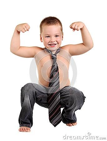 Little boy necktie