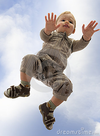 Free Little Boy On All Four Stock Photo - 5029350