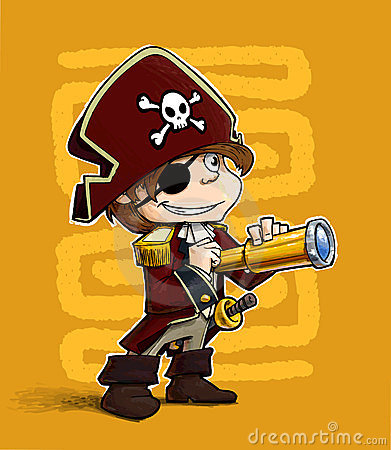 Little boy Pirate.
