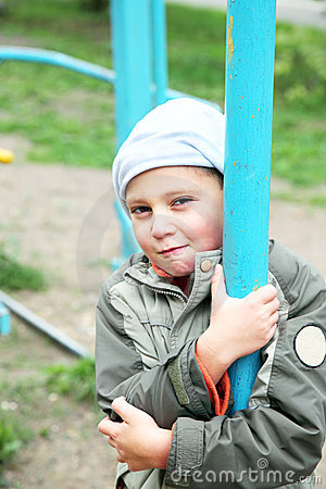 Little boy at playground