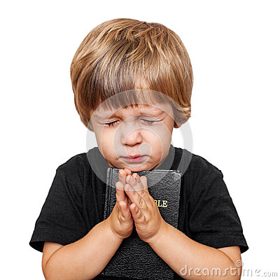 Free Little Boy Praying Royalty Free Stock Photography - 27175047