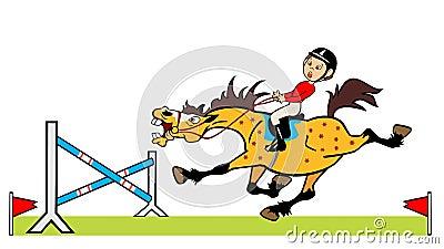 Little boy rider