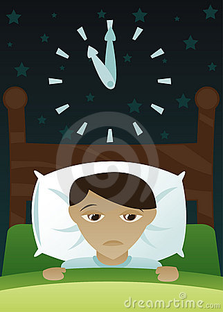 Free Little Boy S Got Insomnia Stock Photography - 1519502