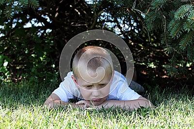 Little Boy Sad