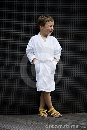 Little Boy at Spa