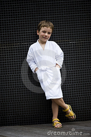 Little Boy at Spa