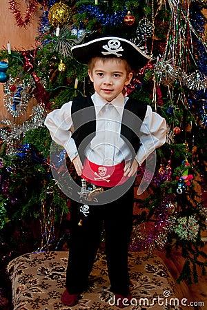 Новогодний костюм своими руками для мальчика 7