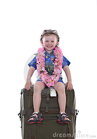 Free Little Boy Traveling Royalty Free Stock Photography - 5173137