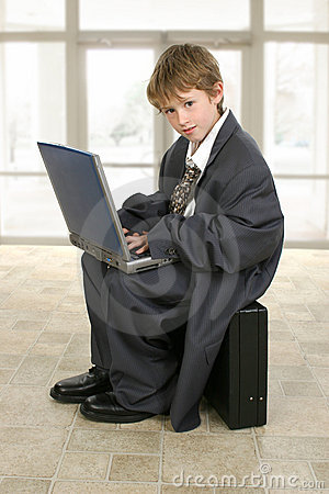 Free Little Business Man Royalty Free Stock Image - 1679586
