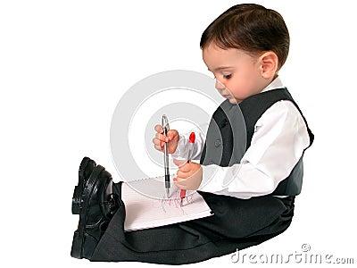 Little Business Man Series: Ambidextrous