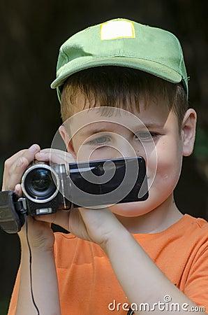 Little cameraman