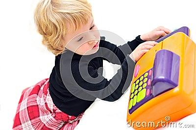 Little  cashier