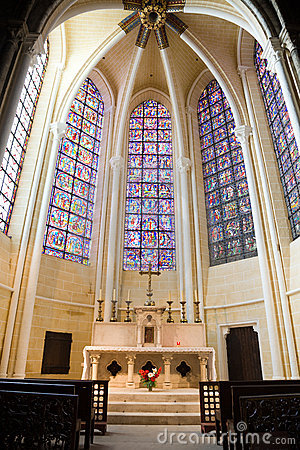 Little Chapel in Chartres Cathedral