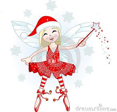 Little Christmas fairy