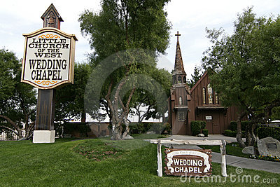 The Little Church of the West Editorial Image