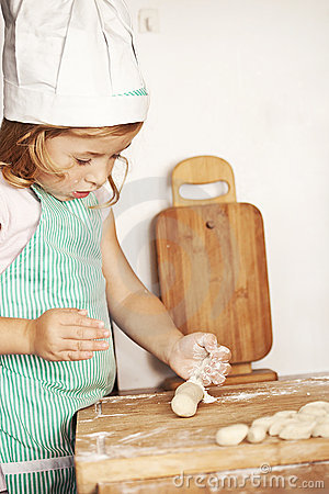 Free Little Cook Royalty Free Stock Photography - 18602037