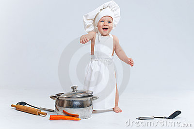 Little cook.