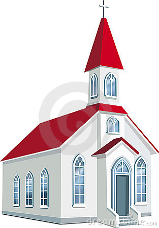 Free Little County Christian Church Stock Photo - 12330840
