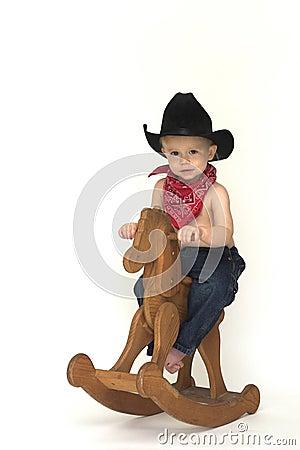 Free Little Cowboy Royalty Free Stock Photos - 3757428