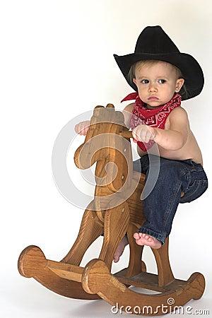 Free Little Cowboy Royalty Free Stock Photo - 3757445
