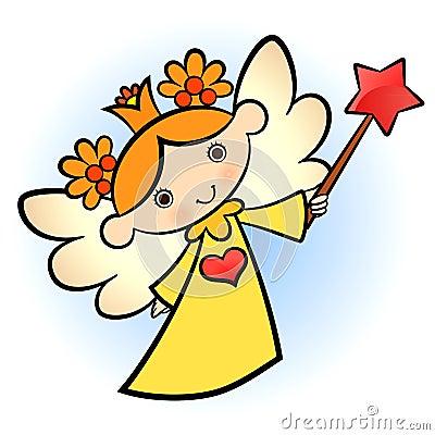 Little cute angel