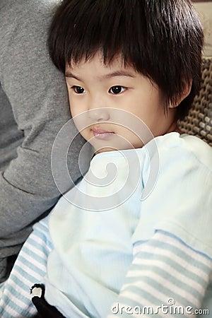 Little cute asian girl