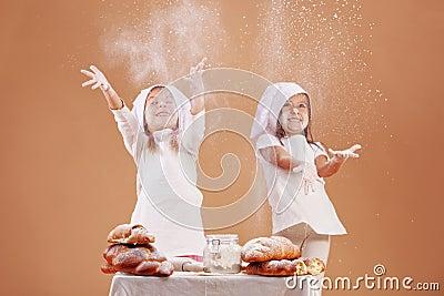 Little cute bakers