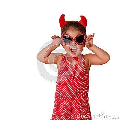 Free Little Devil Royalty Free Stock Photos - 3309458