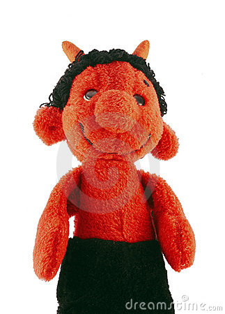 Little devil - hand puppet