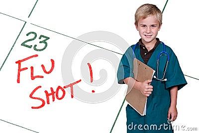 Little Doctor Flu Shot