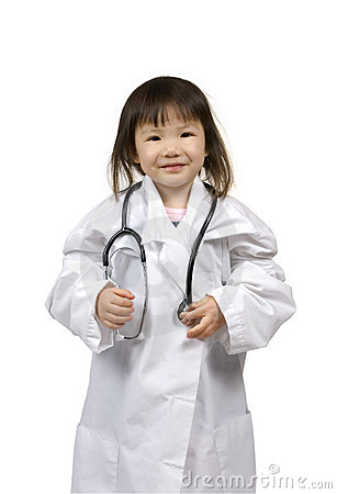 Free Little Doctors 002 Royalty Free Stock Photo - 2218655