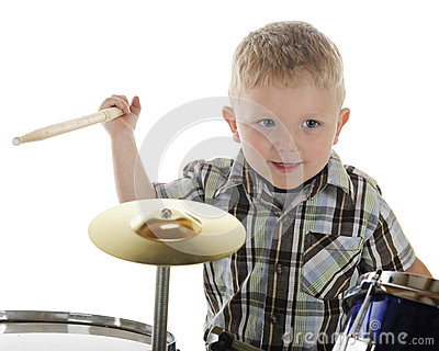 Little Drummer Closeup