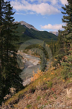 Little Elbow River Valley, Alberta, Canada