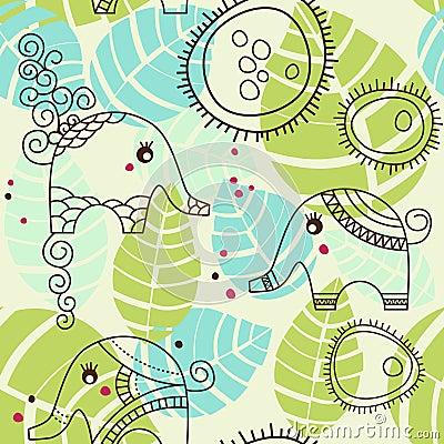 Little elephants garden