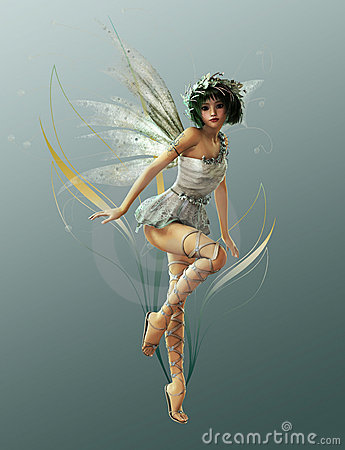 Free Little Fairy 1 Stock Image - 19736991