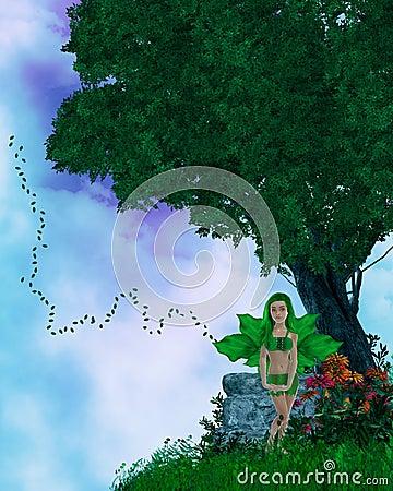 Little Fairy On A HIlltop
