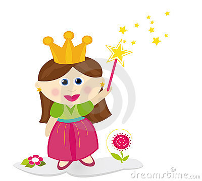 Free Little Fairy Princess Stock Photos - 13729323