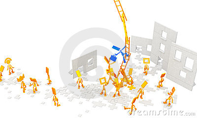 Little Figures, Ladders