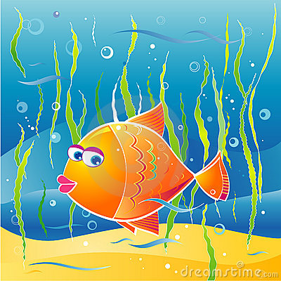 Free Little Fish,vector Illustratio Stock Photos - 1186373