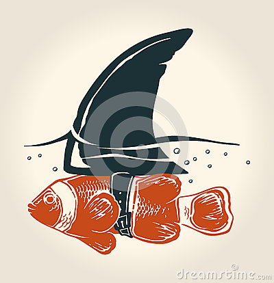 Free Little Fish With Great Idea Stock Image - 50579761
