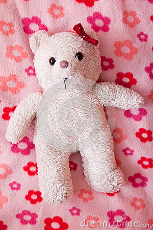 Little fluffy teddy bear