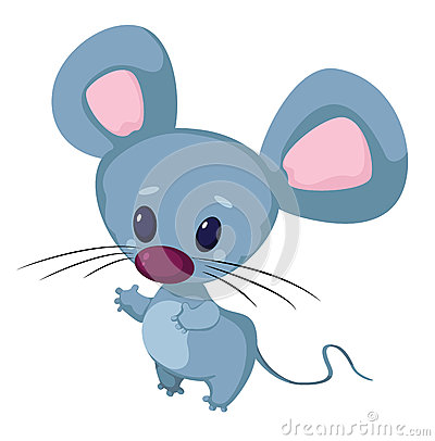 Little funny mouse