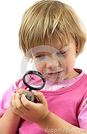 Little geologist