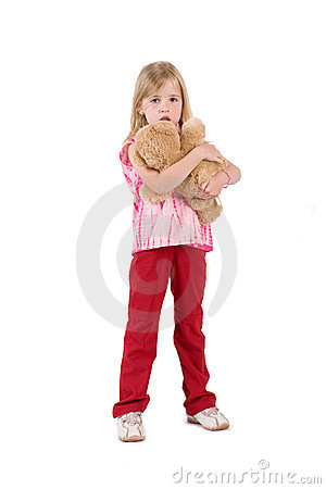 Little Girl Royalty Free Stock Image - Image: 9514726