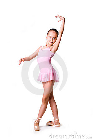 Free Little Girl Ballerina Stock Photos - 18964833