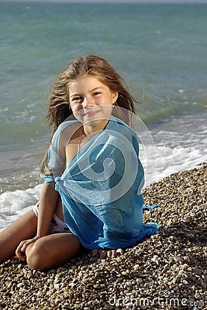 Naked teen beach