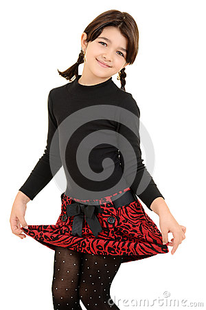 Free Little Girl Being Cute Stock Images - 28517524
