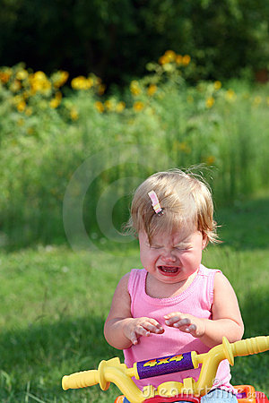 Free Little Girl Crying Stock Photography - 6460612