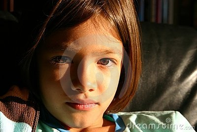 Little Girl - A Face of Promise